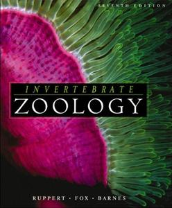 INVERTEBRATE ZOOLOGY : A FUNCTIONAL EVOLUTIONARY APPROACH Ruppert E.E. Fox R.S., Barnes R.D. 2004