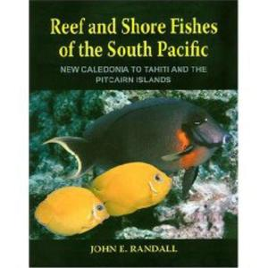 REEF AND SHORE FISHES OF THE SOUTH PACIFIC. NEW CALEDONIA TO TAHITI AND THE PITCAIRN ISLANDS Randall J.E.  2005
