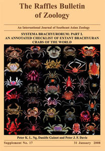 SYSTEMA BRACHYURORUM : PART I. AN ANNOTATED CHECKLIST OF EXTANT BRACHYURAN CRABS OF THE WORLD Ng P. K. L. Guinot D., Davie P. J. F. 2008